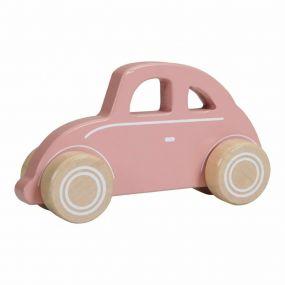 Little Dutch Houten Auto Roze