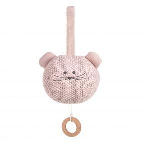 Lassig Muziekdoosje Knitted Little Chums Mouse