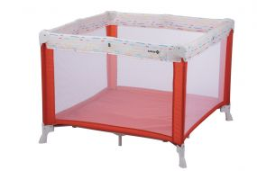 Safety 1st Campingbed Circus Playpen Red Lines