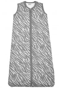 Meyco Winterslaapzak Zebra Grijs Gevoerd 70 cm