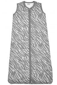 Meyco Winterslaapzak Zebra Grijs Gevoerd 90 cm