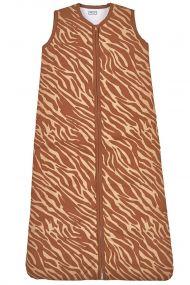 Meyco Winterslaapzak Zebra Camel Gevoerd 70 cm