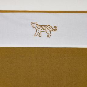 Meyco Ledikantlaken Cheetah Animal Honey Gold 100x150