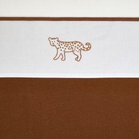 Meyco Ledikantlaken Cheetah Animal Camel 100x150