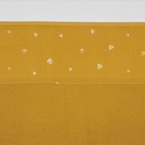 Meyco Ledikantlaken Sweet Triangle Okergeel 100 x 150 cm