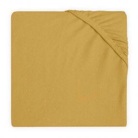 Jollein Hoeslaken Boxmatras 75 x 95 cm Mustard