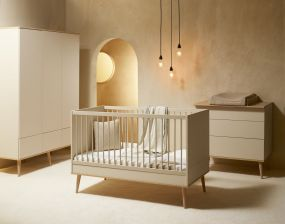 Quax Doorgroei Babykamer Flow Clay & Oak