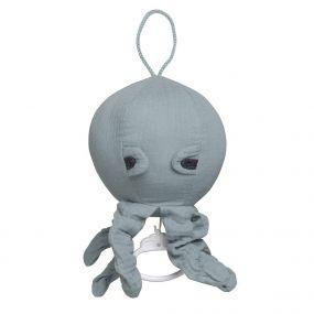 Baby's Only Muziekdoosje Octopus Breeze Stonegreen