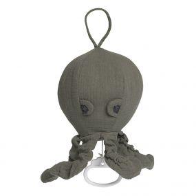 Baby's Only Muziekdoosje Octopus Breeze Khaki
