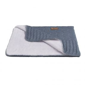 Baby's Only Wiegdeken  Cable Teddy Granit 95x70 cm