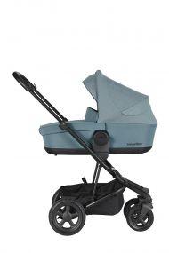 Easywalker Kinderwagen Harvey² All Terrain Ocean Blue + Reiswieg