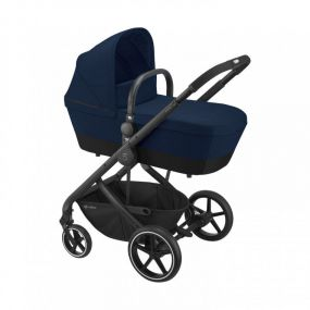 Cybex Kinderwagen Balios S Lux 2 in 1 Navy Blue Black Frame