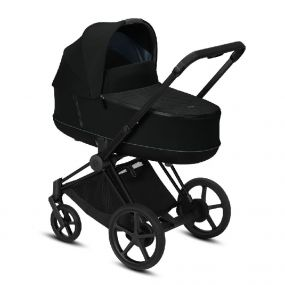 Cybex Kinderwagen ePriam 2 in 1 Deep Black / Matt Black Frame