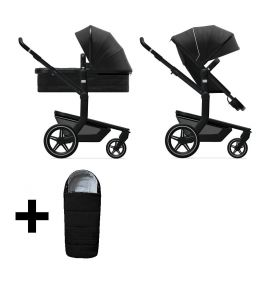 Joolz 2 In 1 Kinderwagen Day+ Brilliant Black + Gratis Voetenzak