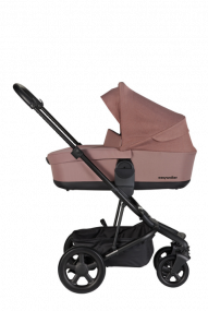 Easywalker Kinderwagen Harvey² Desert Pink + Reiswieg
