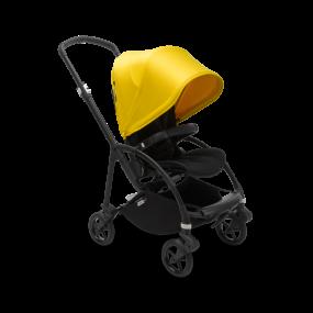 Bugaboo Kinderwagen Bee6 Black - Lemon Yellow