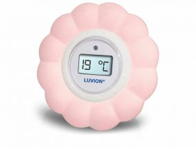 Luvion Thermometer Bad/Kamer Roze