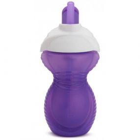 Munchkin Drinkbeker Click Lock Flip Straw Cup Paars