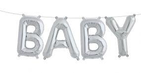 O'that Ballon Kit Baby Silver