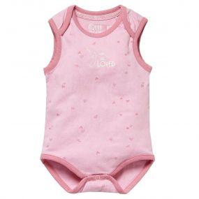 Quapi Romper Zosia Hearts Candy Pink