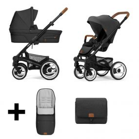 Mutsy Kinderwagen Nio 2 in 1 Adventure Deep Earth Black