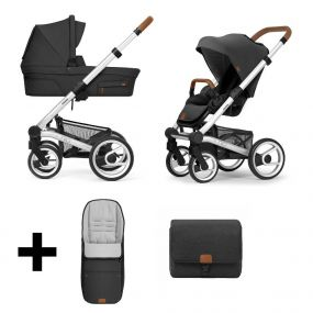 Mutsy Kinderwagen Nio 2 in 1 Adventure Deep Earth Standard