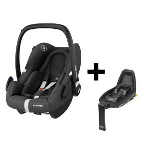 Maxi Cosi Autostoel Rock Essential Black + Familyfix2 Base