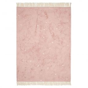 Little Dutch Vloerkleed Dot Pure Pink 170 x 120 cm