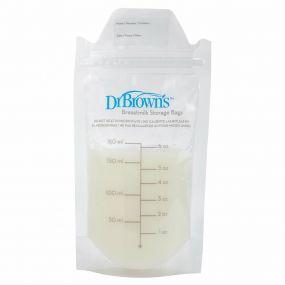 Dr Brown's Bewaarzakjes Borstvoeding 25 Stuks