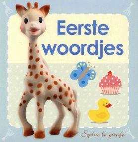 Sophie de Giraf Baby Kartonboekje Eerste woordjes
