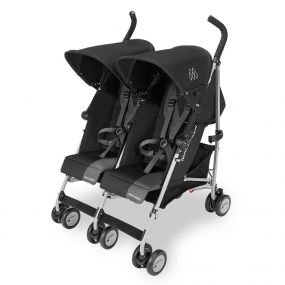 Maclaren Twin Triumph Black/Charcoal