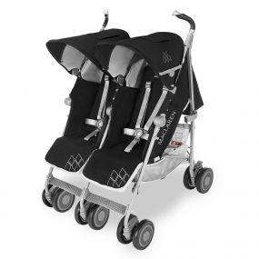 Maclaren Buggy Twin Techno Black