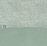 Jollein Wieglaken Snake Ash Green 75 x 100 cm