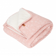 Little Dutch Wiegdeken Pure & Soft Wild Flowers Pink