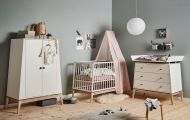 Leander Luna Babykamer 3 Delig White Oak