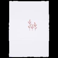 Little Dutch Ledikantlaken Geborduurd Wild Flowers Rust