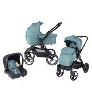 Born Lucky Kinderwagen 3in1 Riva Green