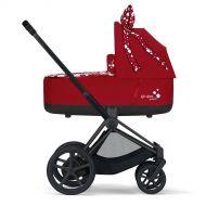 Cybex Kinderwagen 2 in 1 ePriam Petticoat Dark Red