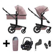 Joolz 3 In 1 Kinderwagen Day+ Premium Pink + Autostoel + Adapterset + Base + Voetenzak