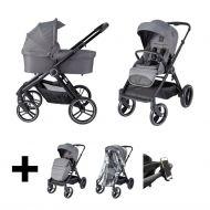 Born Lucky Kinderwagen Riva Grey
