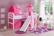 Eliyas Halfhoogslaper Pink Hearts