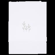 Little Dutch Ledikantlaken Geborduurd Wild Flowers Olive