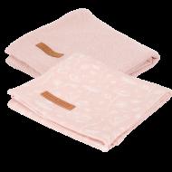 Little Dutch Hydrofiele Doeken Wild Flowers Pink 70 x 70 cm
