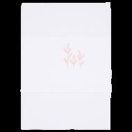 Little Dutch Ledikantlaken Geborduurd Wild Flowers Pink