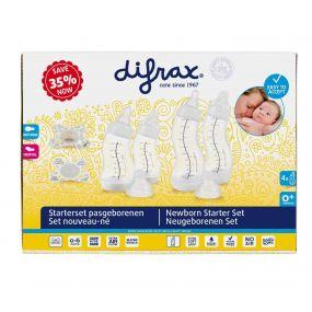 Difrax Startersset Newborn Wit