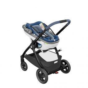 Maxi Cosi Kinderwagen Adorra Oria Coral 3 in 1 Essential Blue