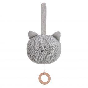 Lassig Muziekdoosje Knitted Little Chums Cat