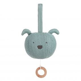 Lassig Muziekdoosje Knitted Little Chums Dog