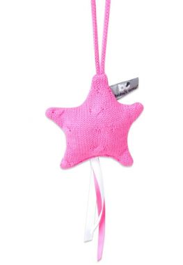 Baby's Only Ster Decoratie Kabel Uni Fuchsia