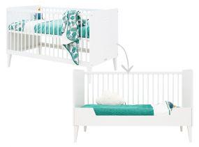Bopita Babybed Locker Wit 70 x 140 cm
